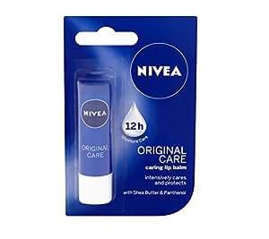 Nivea Lip Balm Original Care,4.8 g