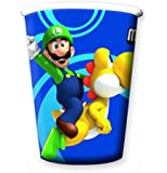 Super Mario Bros Wii Party tasses (pack de 8)
