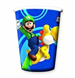 Super Mario Bros Wii Party Cups (Pack Of 8)