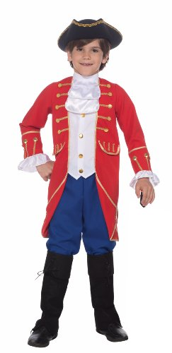 Forum Novelties Patriotic Party Founding Father Costume, Child Small