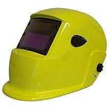 GHP Yellow Lime Solar Auto Darkening Welding Welder Helmet