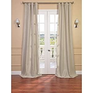 amazon com birch linen sheer curtain window treatment