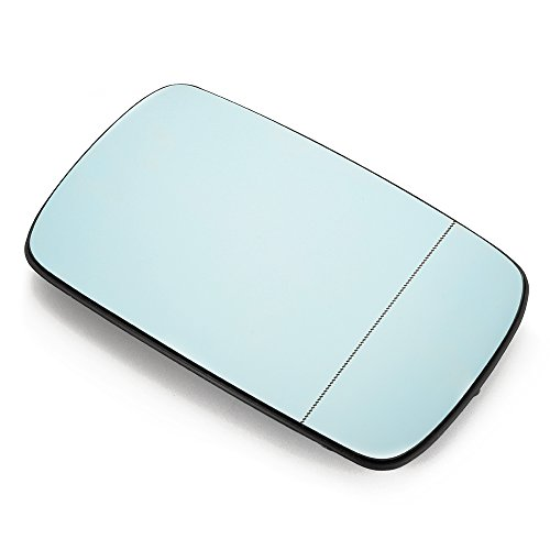 XCSOURCE BLUE Mirror Glass for BMW 3 Series E46 E39 318I 320I 325I 330I Passenger Side View Right MA597 (Bmw 325i Side Mirror compare prices)