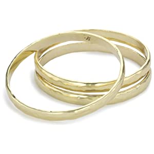 Kenneth Cole New York Gold-Tone Bangle Bracelet Set