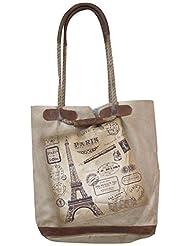 Leacan Bags Tote Bag (Beige) - B01B7R2W0K