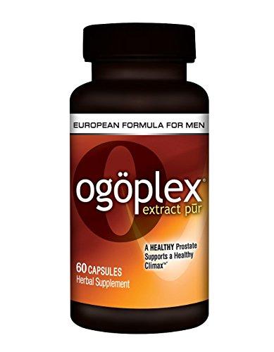 Ogoplex | Patented Graminex Swedish Flower Pollen, Saw Palmetto, Phytosterols & Lycopene - Male Prostate & Climax Enhancement Supplement - 1 Bottle