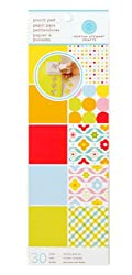 Martha Stewart Crafts Punch Pad 4'' X 12'' Brights By The Package