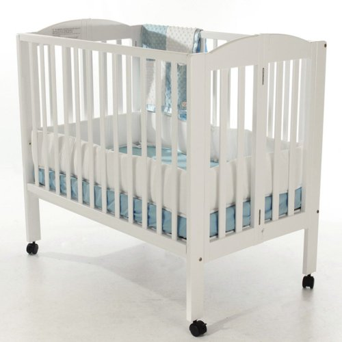 Dream-On-Me-2-in-1-Portable-Folding-Stationary-Side-Crib