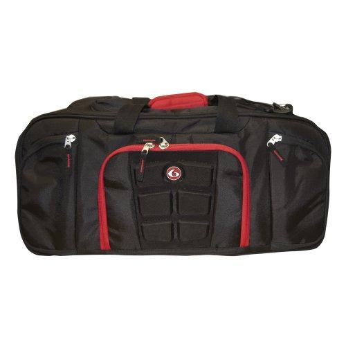 6 Pack Fitness Expert Beast Duffel 500 Black/Red