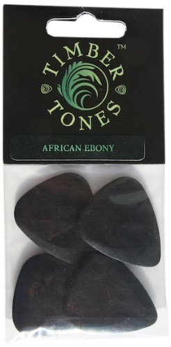 Timber Tones P4-AFEB African Ebony Guitar Picks