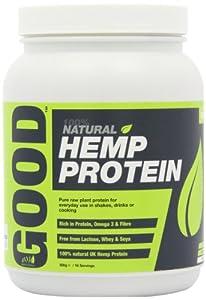 Good Hemp Protein Powder Natural 500g