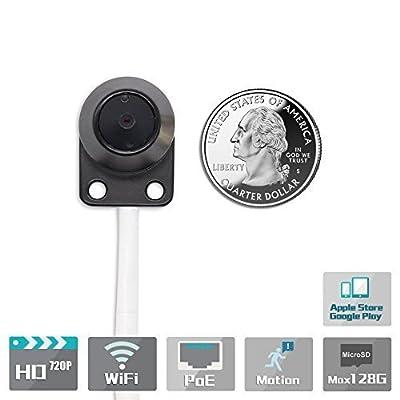 Titathink TT520PW 720P HD Wireless Micro Hidden Pinhole Nanny Spy H.264 Network IP Camera