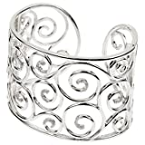 Sterling Silver 3/8 ct. Diamond Cuff Bracelet