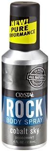 Crystal Rock Deodorant Body Spray Cobalt Sky 4 fl oz