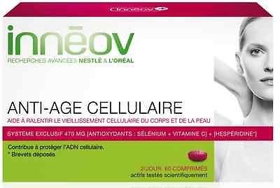 Inneov Antiage Anti Age Cellular Cellulaire Antiedad Celular 60 Tabs