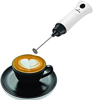 Kuwan Rechargeable Electric Handheld Coffee Frother Wand Mixer