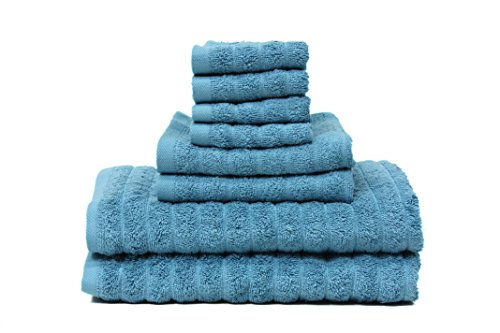 100% Cotton Bath Towel Set 8 Piece