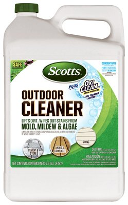 Scotts company 51501 concentrate plus oxi clean outdoor for Outdoor concrete cleaner