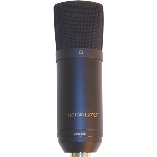 Brand New Nady Studio Condenser Microphone - With Internal Shock Mount