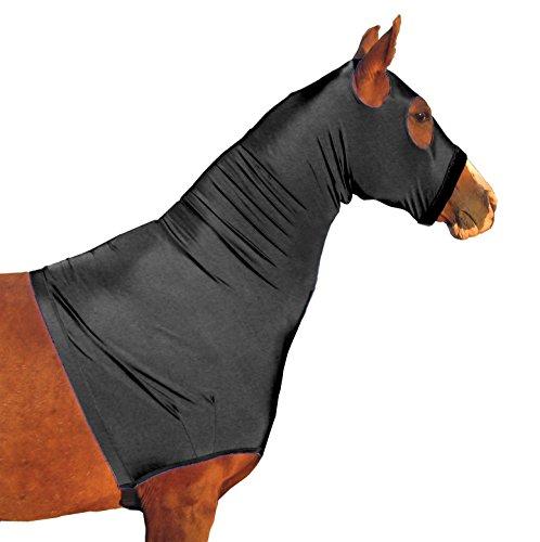 derby-originals-lycra-horse-hoods-with-zipper-black-x-large