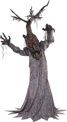 Haunted Tree Deadwood 72 Inches Animated Halloween Prop House Yard Scary Decor