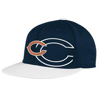 NFL Chicago Bears End Zone 2 In 1 Flat Visor Flex Hat - Tw80Z by Reebok