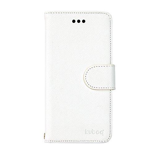 オウルテック iPhone6s/6 4.7インチ 手帳型 ケース ホワイト レザー調 スタンド機能 ICカードポケット付