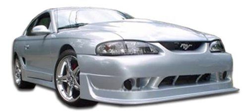 1994-1998 Ford Mustang Duraflex Cobra R Body Kit - 4 Piece - Includes Cobra R Front Bumper Cover (101424) Colt 2 Rear Bumper Cover (101431 Colt 2 Side Skirts Rocker Panels (101432) (Cobra Bumper Cover compare prices)