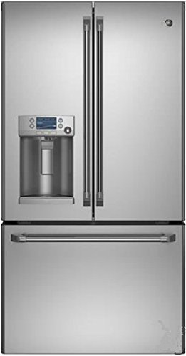 GE CFE28TSHSS Cafe 28.6 Cu. Ft. Stainless Steel French Door Refrigerator - Energy Star (Ge Energy Star French Door compare prices)