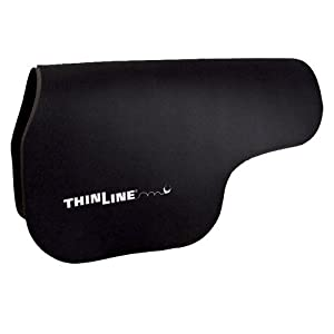 ThinLine Contour Saddle Pad, Large, Black
