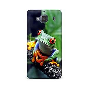 Mobicture Coloured Frog Premium Printed Case For Xiaomi Redmi 2s
