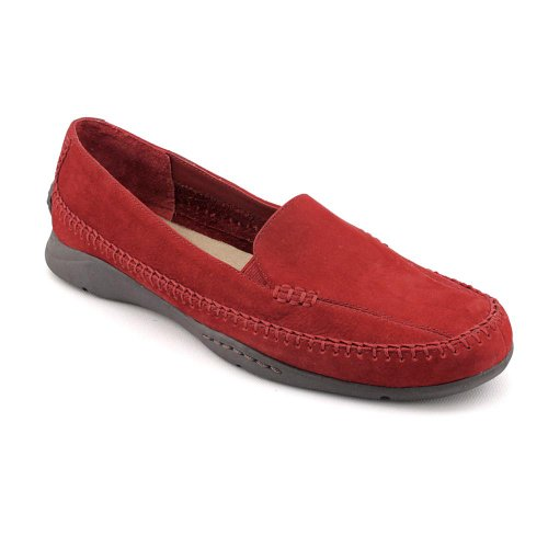 Aerosoles Ivory Tree Moc Moccasins Shoes Red Womens