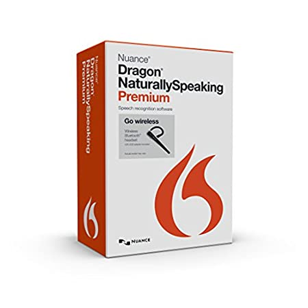 Dragon NaturallySpeaking Premium 13 Bluetooth (Wireless), English