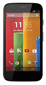 Motorola Moto G Unlocked Cellphone, 16GB, Black