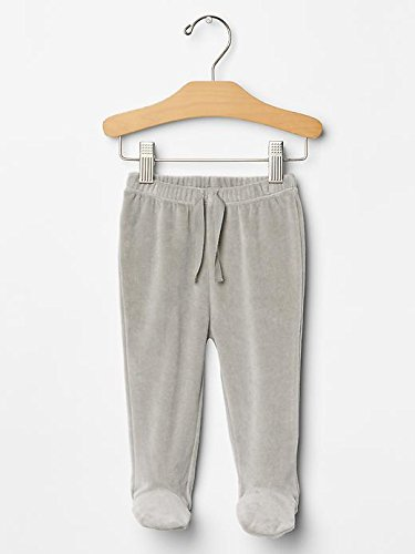 Gap Baby Organic Velour Footed Pants Size 3-6 M