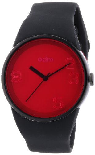 odm-blink-unisex-quartz-watch-with-pink-dial-analogue-display-and-black-silicone-strap-dd131-07
