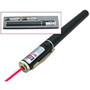 American Science &amp; Surplus Red Laser Pointer With Case and Batteries at Amazon.com