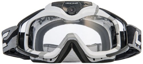 Liquid Image 369 W Torque Series Off-Road Goggle Cam HD 1080p with Wi-Fi Video Camera with 0.5-Inch LCD (White)