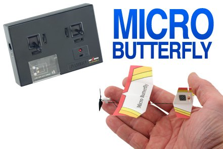 Micro Flight Butterfly Flyer Ready-To-Fly Set
