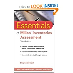 Essentials of Millon Inventories Assessment (Essentials of Psychological Assessment) (9780470168622)
