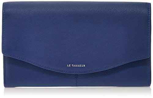 Le Tanneur Valentine Ttv3601, Portamonete, Blu (Blu (Marine)), taglia unica