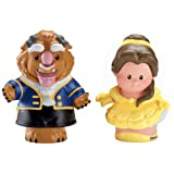 Fisher-Price Little People Disney Belle And Beast (2 Pack)