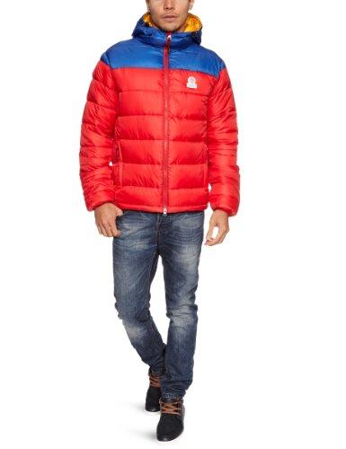 Franklin & Marshall JKMR130W12 Men's Jacket Dark Red Large