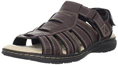 Dockers Men's Ellsworth Fisherman Sandal,Briar,7 M US