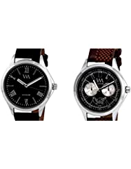 WATCH ME COMBO GIFT SET OF WATCHES FOR MEN AND COUPLES WM-0026-B AWM-027