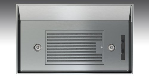 Zephyr Ak9034As290 Stainless Steel Insert 290 Cfm 36 Inch Wide Range Hood Insert With An Adjustable Depth Of 17-1/2 Inch To 20-1/2 Inch And Mechanical Slide Controls From The Vortex Collection