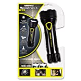New - LED Comfort Grip Flashlight, Black - RNR2DB