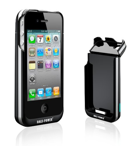 iPhone 4用バッテリー(2000mAh)付きケース Hali-Power Power Spring 4