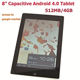 Tango Pad white, Android 4.0 Tablet 8