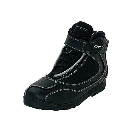 CT motorradschuh sPORT taille 38-chaussures en cuir, noir, coupe-vent et imperméable